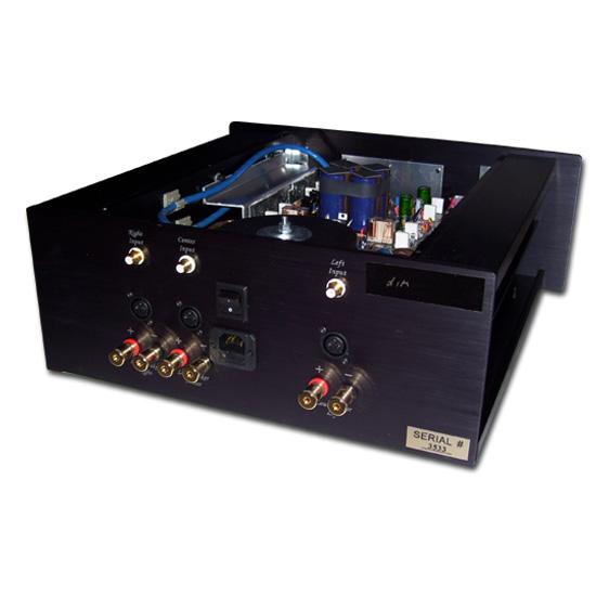 Stratos HT - 3 Multichannel Amplifier Back