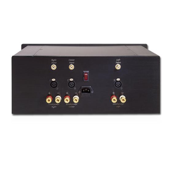 Stratos HT - 3 Multichannel Amplifier